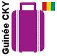 Transport 1 colis, bagage France Guinée (CKY)