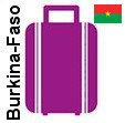 Transport 1 colis, bagage France Burkina-Faso