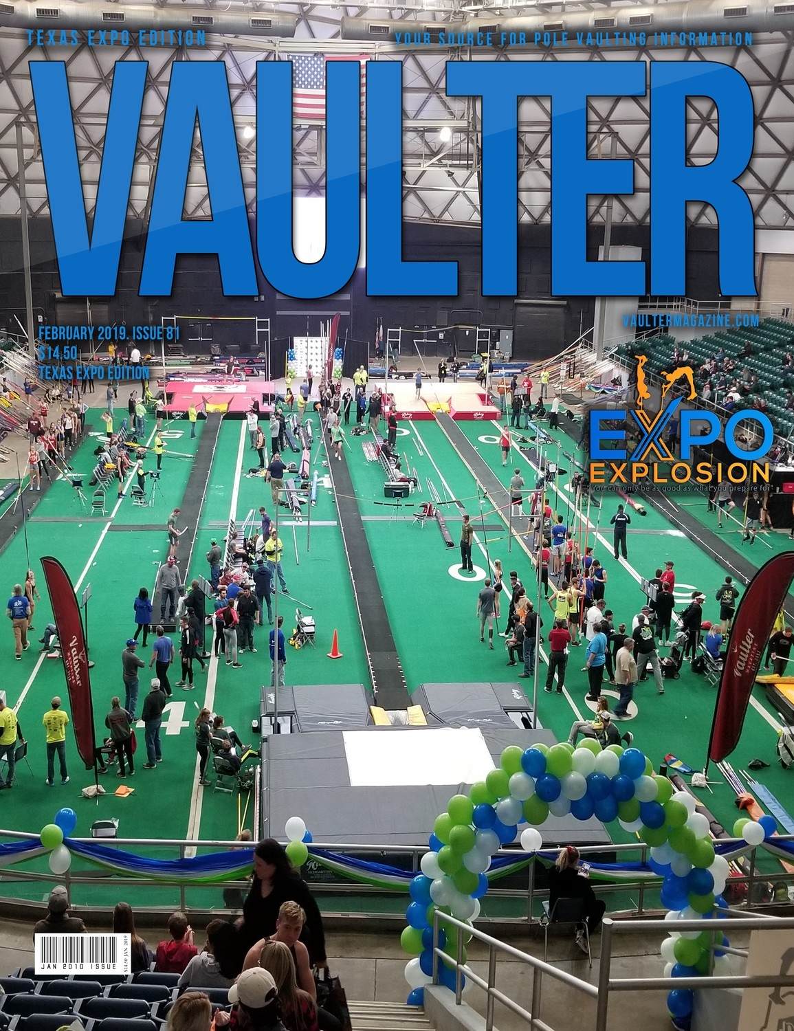Feb 2019 Texas EXPO Edition of Vaulter Magazine  U.S. Standard Mail