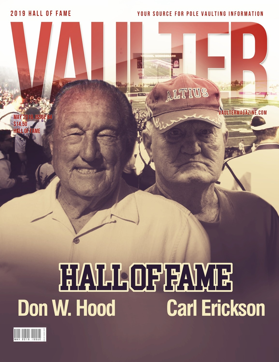 May 2019 Vaulter Magazine Hall of Fame Issue - Digital Download