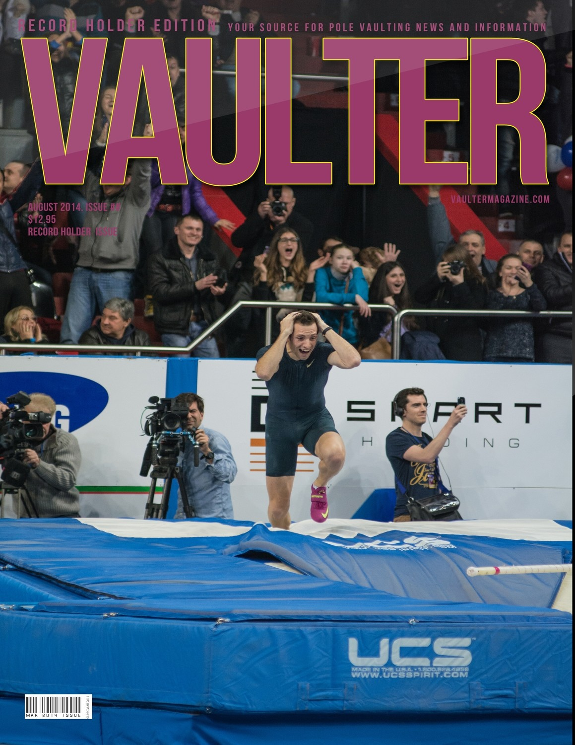 2 Year Hard Copy Subscription of Vaulter Magazine