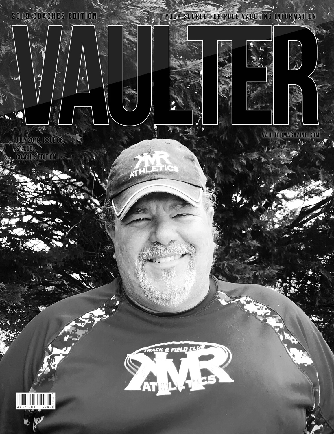 "July 2019 Vaulter Magazine Brian Riggs ""KMR"" Issue of Vaulter Magazine  U.S. Standard Mail"