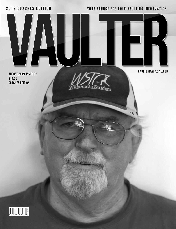 August 2019 Vaulter Magazine Rick baggett Issue - Digital Download