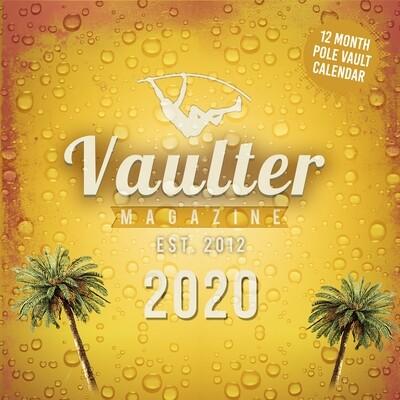 2020 vaulter Magazine Series One Calendar