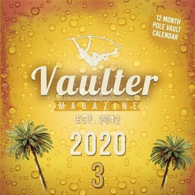 2020 vaulter Magazine Series THREE Calendar