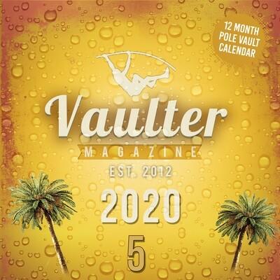 2020 Vaulter Magazine Series FIVE Calendar