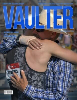 September 2019 Vaulter Magazine Sam Kendricks Issue of Vaulter Magazine Cover  - Poster