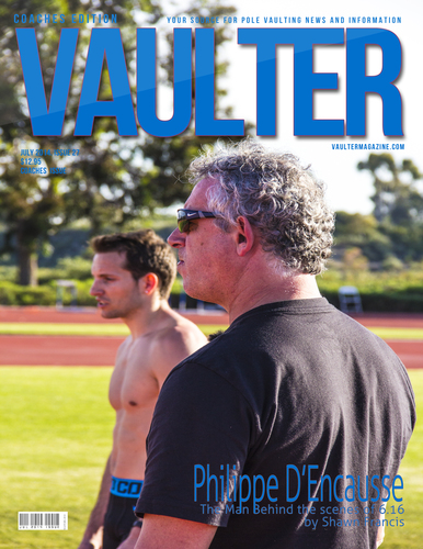 "July 2014 Philippe D'encausse Coaches Edition Issue of VAULTER Magazine USPS First Class ""ONLY"""