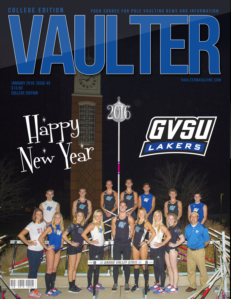 """12"""" x 18"""" Grand Valley University Cover Issue January 2016"""
