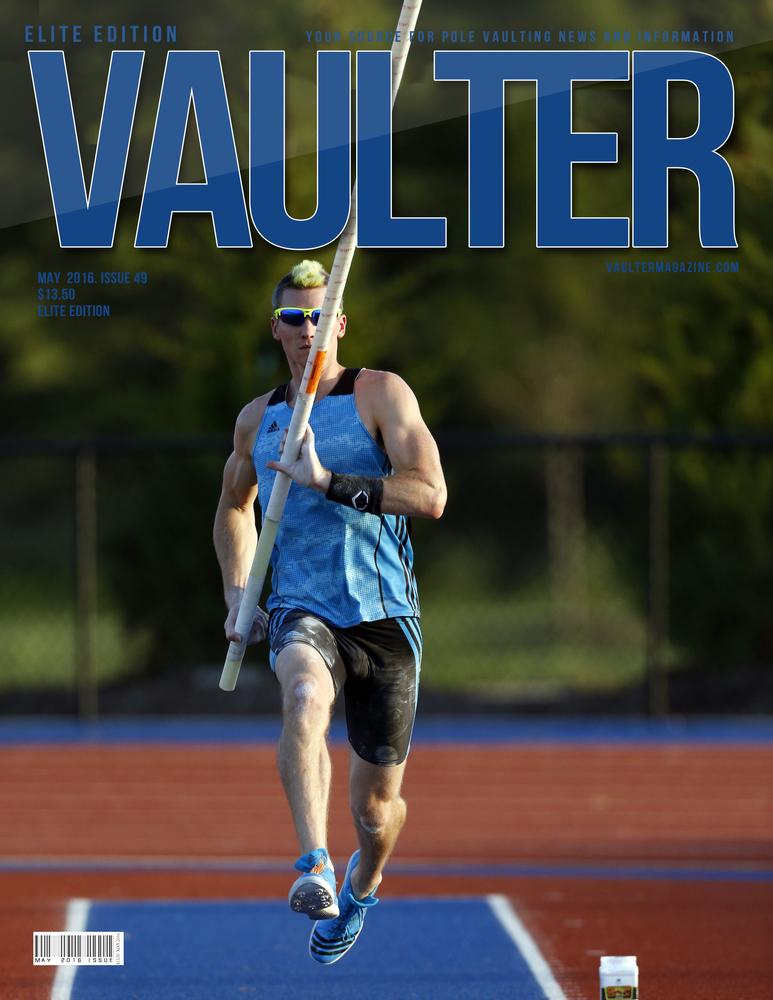 """Jordan Scott Vaulter Magazine May 2016 USPS First Class """"ONLY"""""""