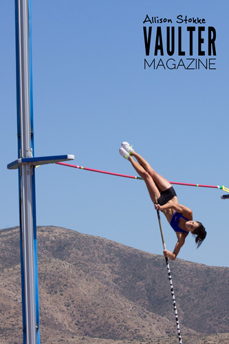 "12"" x 18"" Poster of Allison Stokke"