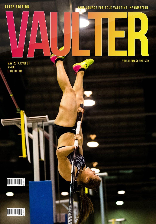 Alysha Newman Cover of Vaulter Magazine May 2017