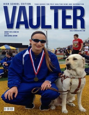 August 2015 Charlotte Brown Issue of VAULTER Magazine USPS First Class