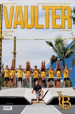 2017 Long Beach State University Cover June Digital Download