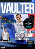 "12"" x 18"" Poster of  Renaud Lavillenie First Limited Edition Cover of VAULTER"