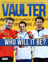 "12"" x 18"" Poster of  Renaud Lavillenie - Bjorn Otto - Brad Walker Cover of VAULTER"