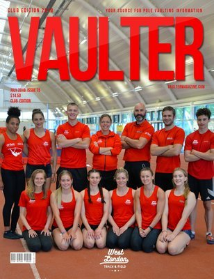 July 2018 West London Track & Field Cover Issue of Vaulter Magazine Cover Issue of Vaulter Magazine Digital Download