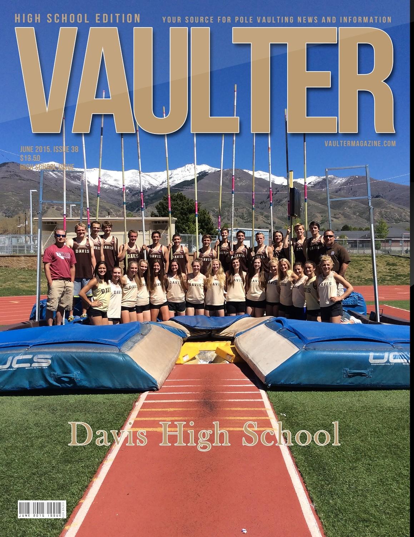 """12"""" x 18"""" 2015 June Davis High School Cover Poster of VAULTER"""