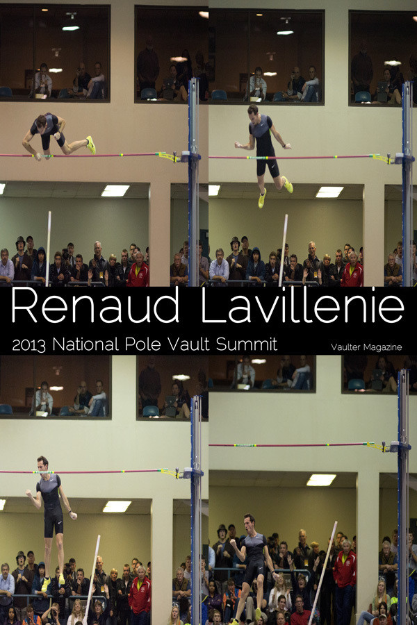 "12"" x 18"" Poster of the Renaud Lavillenie of VAULTER"