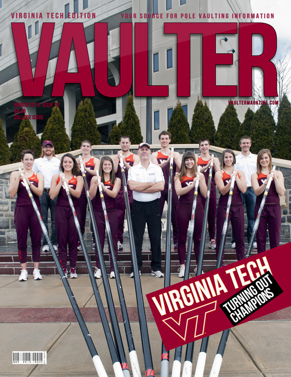 "12"" x 18"" Poster of the Virginia Tech Cover of VAULTER"