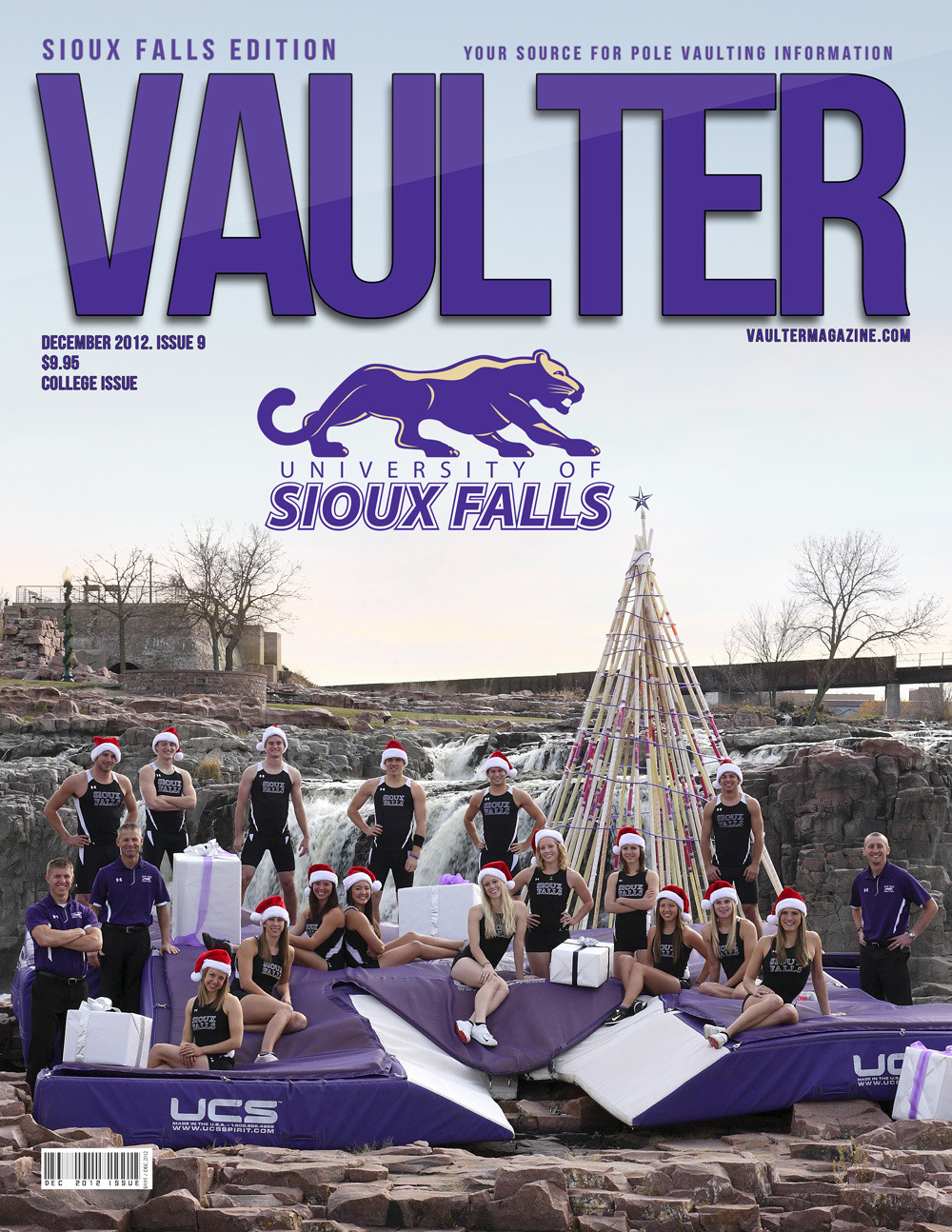 Poster of Sioux Falls University Cover of VAULTER