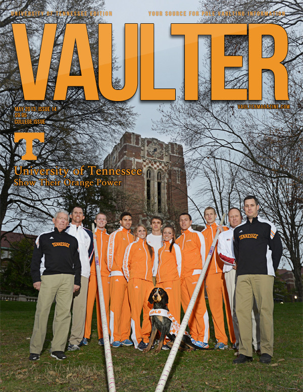 """12"""" x 18"""" Poster of the University of Tennesee  Cover of VAULTER"""