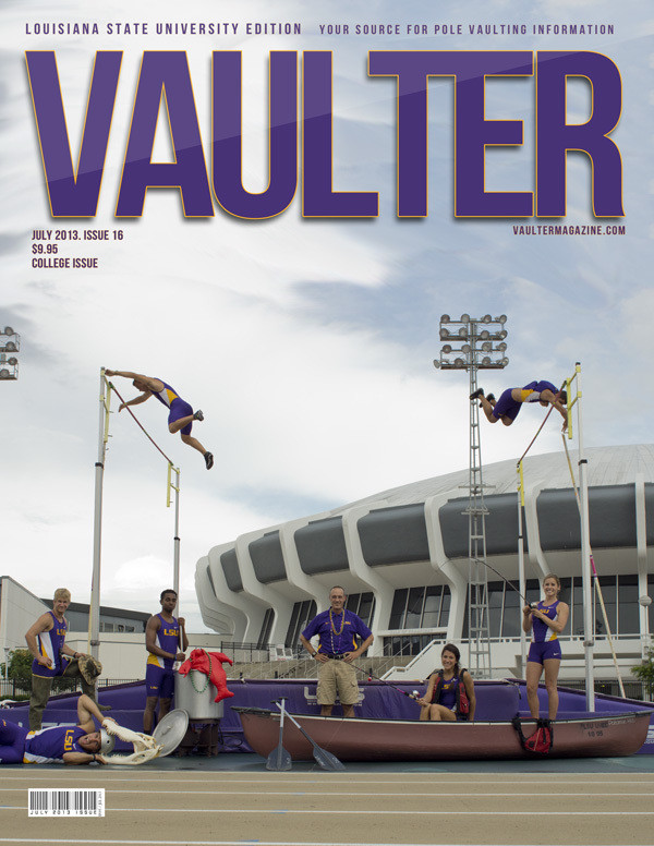 "12"" x 18"" Poster of Louisiana State University Cover of VAULTER"