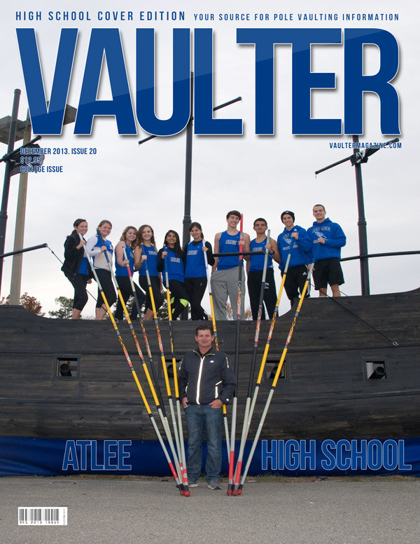 "12"" x 18"" Poster of Atlee High School Cover of VAULTER"