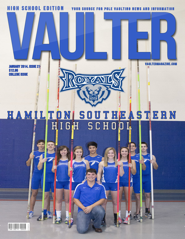 "12"" x 18"" Poster of the Hamilton Southeastern High School Cover of VAULTER"
