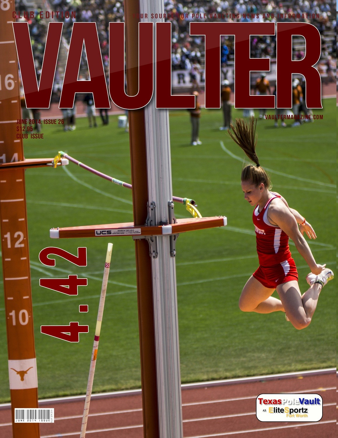 "12"" x 18"" Poster of Desiree Freier 4.42 Cover of VAULTER"
