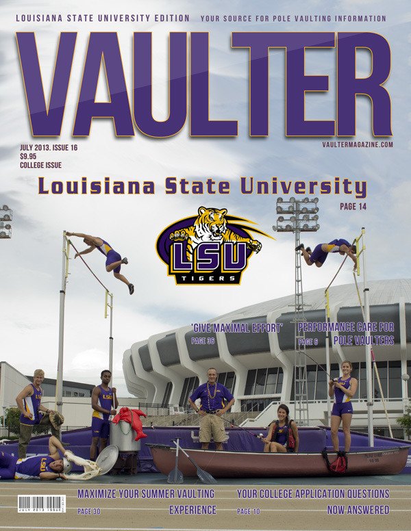 "July 2013 Issue of VAULTER Magazine USPS First Class ""ONLY"""