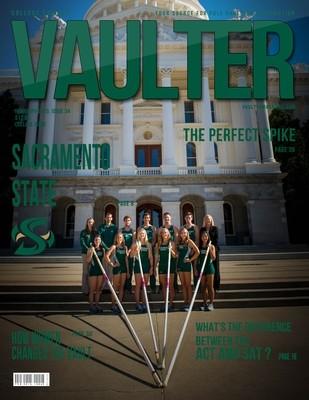 February 2015 Sacramento State University Issue of VAULTER Magazine USPS First Class