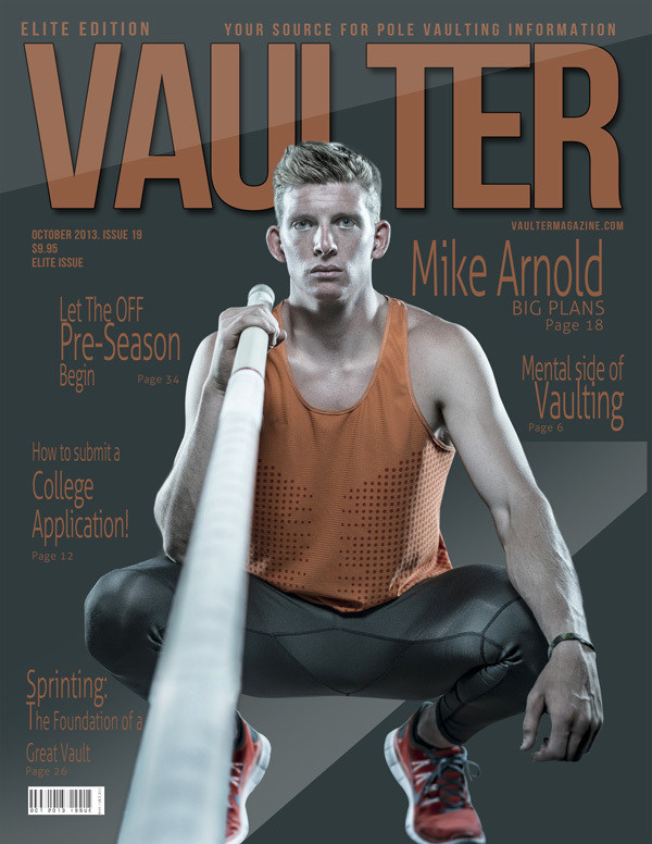 "October 2013 Issue of VAULTER Magazine USPS First Class ""ONLY"""