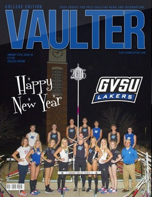January 2016 Grand Valley University Issue of VAULTER Magazine USPS First Class