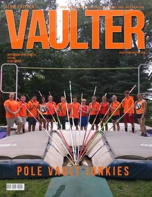 September 2015 Pole Vault Junkies Issue of VAULTER Magazine USPS First Class
