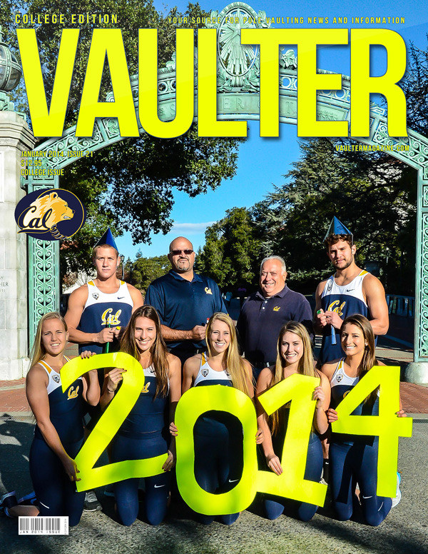 "January 2014 Issue of VAULTER Magazine USPS First Class ""ONLY"""