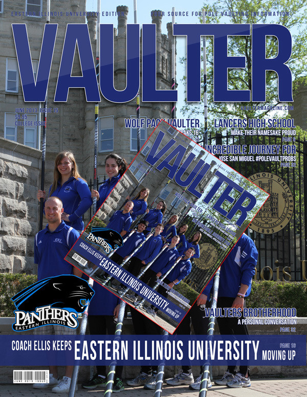 Buy a Eastern Illinois University Magazine - Get the cover Poster for $20 - That's $5 Off