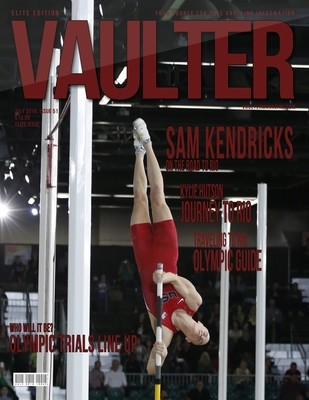 Sam Kendricks Cover of Vaulter Magazine USPS Only