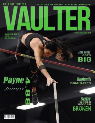 Demi Payne Vaulter Magazine March 2016 USPS First Class
