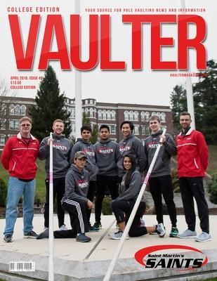 St. Martins Vaulter Magazine April 2016 USPS First Class