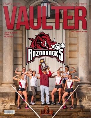 June 2015 University of Arkansas Issue of VAULTER Magazine USPS First Class