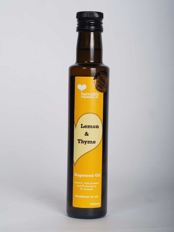 Harnett's Lemon and Thyme Rapeseed Oil 250ml