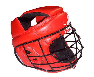 Шлем для АРБ PROFI со спецстальной маской и ушной вставкой
