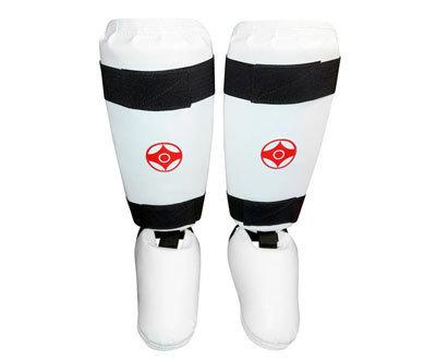 Защита голени и стопы для каратэ пара