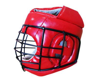 Шлем для армейского рукопашного боя PROFI со спецстальной маской и ушной вставкой