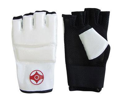Перчатки для каратэ Киокуcинкай (кожзаменитель) Вид 2