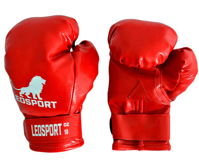 Перчатки боксерские на липучке