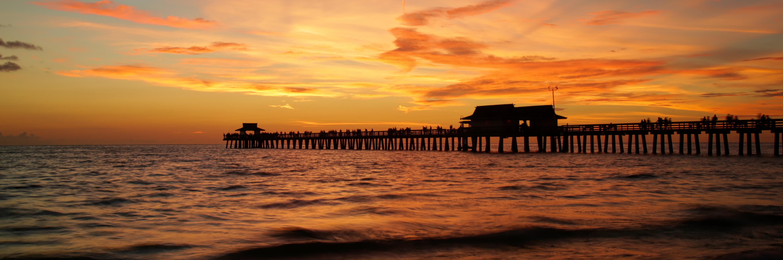 Colors of Naples - Naples Pier Sunset CON_PANO_001
