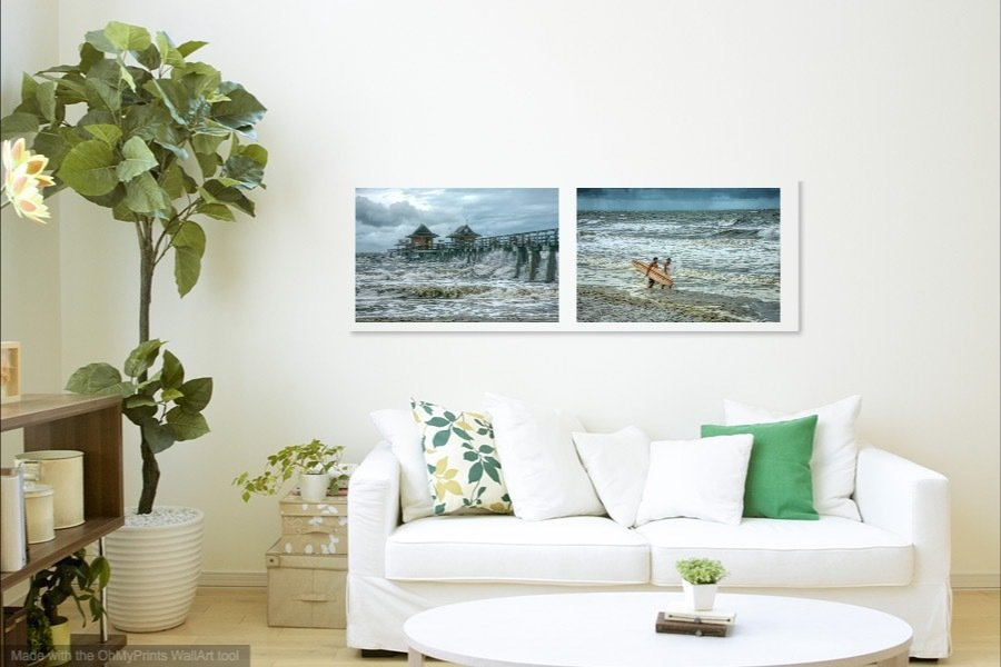 Colors of Naples - Surf at the Pier Collection