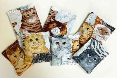 Selfie Catnip Squares